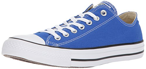 Converse Chuck Taylor All Star Seasonal Canvas Low Top Sneaker, Hyper Royal, 4.5 M ()