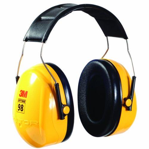 3M OCS1401 Peltor Optime, 98 Earmuffs (Case of 2)