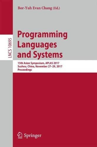 Programming Languages and Systems Front Cover