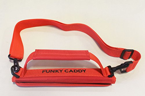 A99 Golf C12 Funky Caddy Golf Bag Driving Range Carrier Sleeve Light with velcro Red by A99 Golf (Image #4)