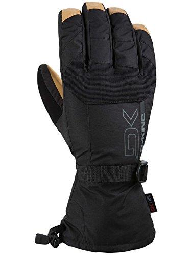 Dakine Men's Leather Scout Gloves, Black, Tan, L