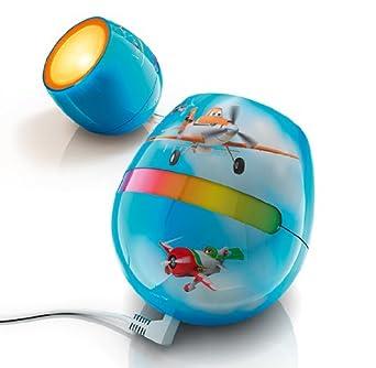 Philips Livingcolors Micro Disney Planes Lampe A Poser Bleu Amazon