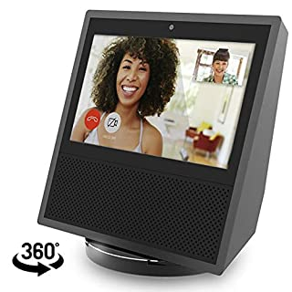 11FLY Echo Show 1st Gen Stand Aluminum Stand for Amazon Echo Show 1st Gen Spot Speaker Accessories, Horizontal 360 Rotation, Longitudinal Angle Change Base ES006-02