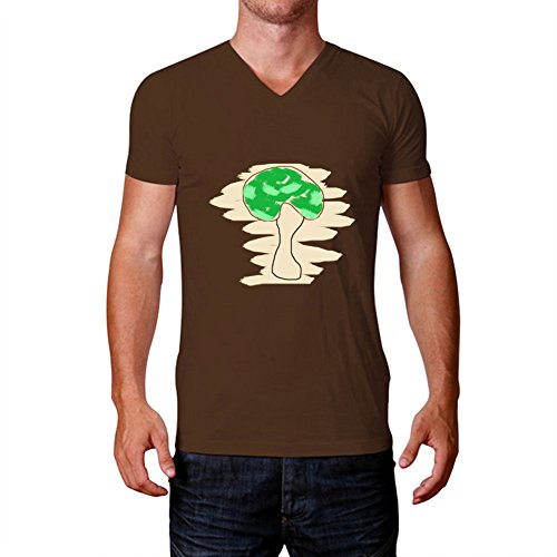 A Blue Feather Men's Funny Printed Diy Trees Short T Shirts