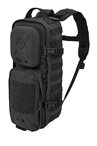 Plan-C(TM) Dual Strap Slim Daypack by Hazard 4(R) - Black