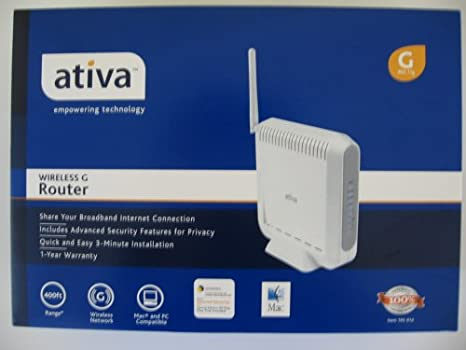 ATIVA WIRELESS G USB NETWORK ADAPTER DRIVER FOR MAC DOWNLOAD