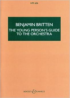 ブリテン: 青少年のための管弦楽入門 Op.34/ブージー & ホークス社/スコア