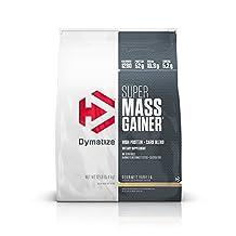 Dymatize Super Mass Gainer, Gourmet Vanilla, 12 lbs