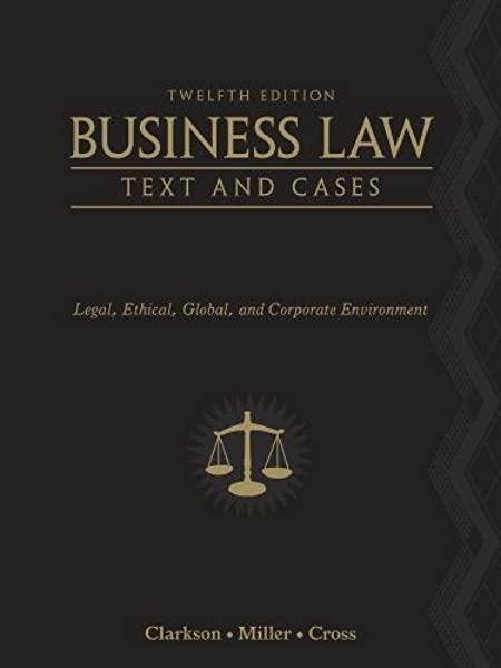 business law text and cases 13th edition access code