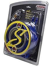 Stinger SS1200XS 4GA Copper 1200W Complete Wiring Kit