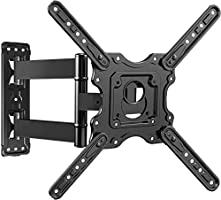 TV Wall Mount, Swivels Tilts Extends Heavy Duty TV Mount Bracket for 32-55 inch Plasma & Curved TV up to 40kg Max VESA...