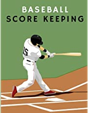 baseball score keeping: baseball scorebook with lineup cards - Score Keeping Book For Softball and Baseball Games For professionals & amateurs players and keep track of your team.