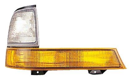 Eagle Eyes FR191-U000L Ford Driver Side Park//Signal//Side Marker Lamp Lens and Housing