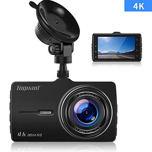 Autokamera 4K Ultra HD, Dashcam, TOGUARD Armaturenbrett Kamera 3 Zoll...
