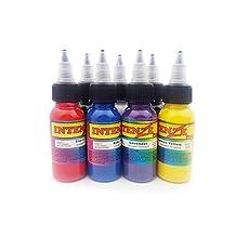 Gillberry New 30ml Professional Tattoo Ink 7 Colors 1oz 30ml/Bottle Tattoo Pigment Kit