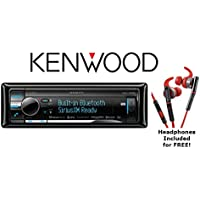 Kenwood eXcelon KDC-X898 CD Receiver with red In Ear Headphones Inlcuded!