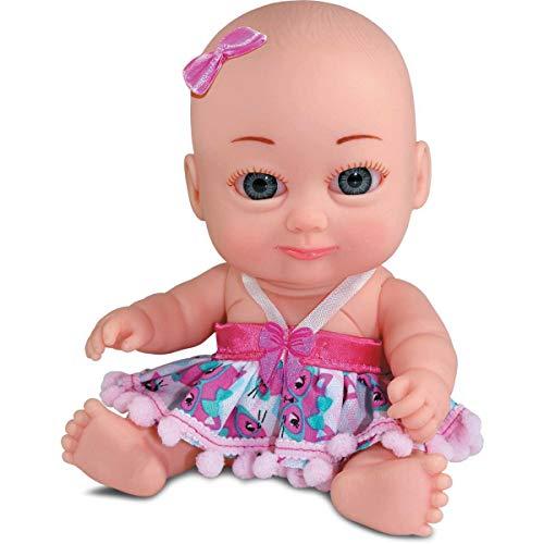 Boneca Mininekas Papinha 21,5cm. Sid-nyl Multicor