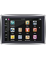 GPS Navigation, Portable Touch Screen Car GPS Navigation for Outdoor for Truck(North America)