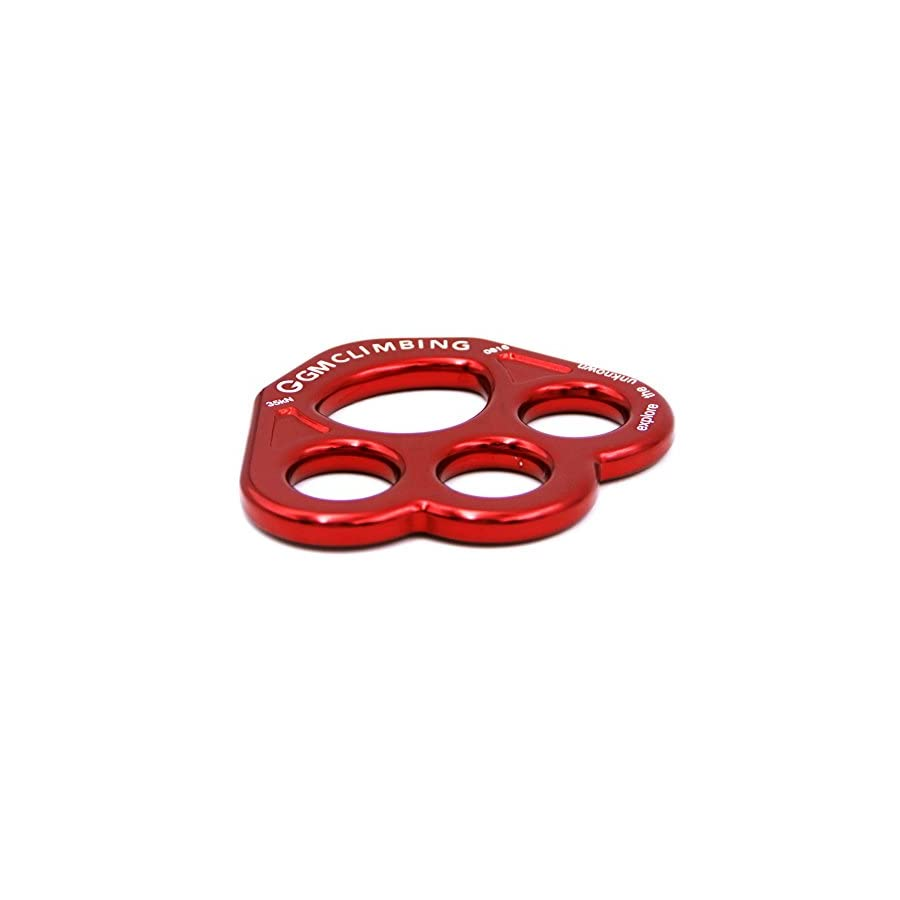 GM CLIMBING 35kN Rigging Plate Bear Paw Anchor Multipliers Rope Friendly