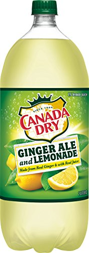 Canada Dry Ginger Ale Soda (Canada Dry Ginger Ale and Lemonade, 2 Liter Bottle)