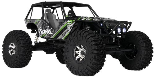 (Axial Wraith 4WD RC Rock Racer Off-Road 4x4 Electric RTR with 2.4GHz Radio & LED Light Kit, 1/10 Scale RTR)