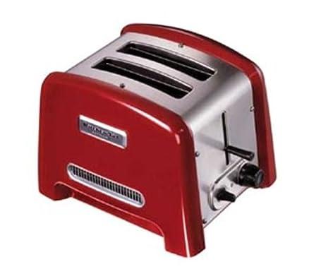 KitchenAid Artisan Tostapane verticale Rosso 850w: Amazon.it: Casa ...