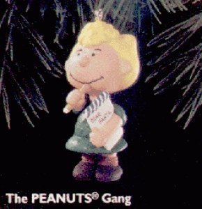 Peanuts Sally 4th and Final in the Peanuts Gang Series - 1996 Hallmark Ornament QX5381