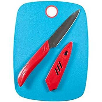Amazon Com Farberware Paring Knife And Cutting Board Set