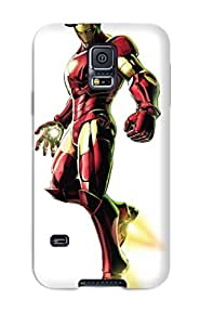Galaxy S5 Case Slim [ultra Fit] Iron Man Protective Case Cover