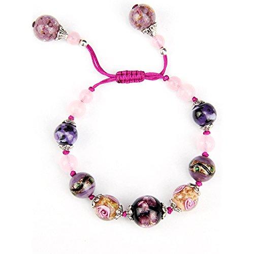 Wolegequ Main Bijoux de mode artisane bijoux pour femmes Les filles bracelets de perles de la main douce d'étudiants sauvages les ornements et bon ami du vent