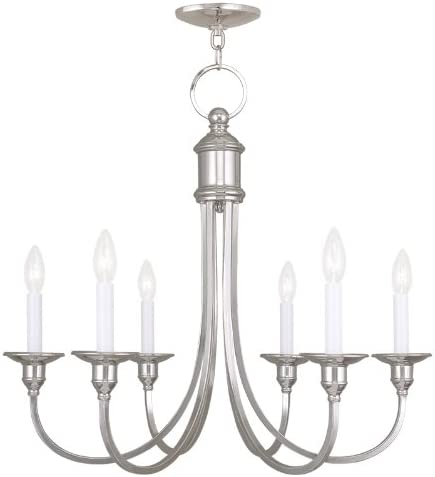 Livex Lighting 5146-35 Cranford 6-Light Chandelier