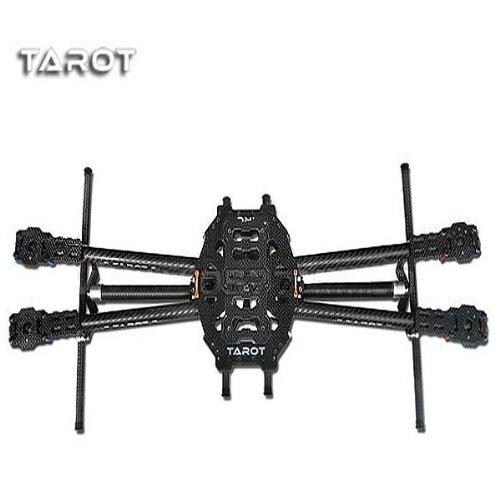 Tarot IRONMAN 650 TL65B01 Rack 4 Axis Full Folding Carbon Fiber by CTU BroHall