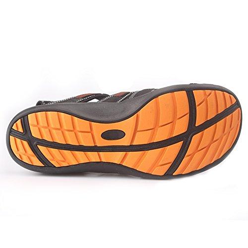 Pictures of GRITION Men's Outdoor Sandals Protective Toecap 3