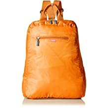 Baggallini Fold Out Backpack, Orange, One Size