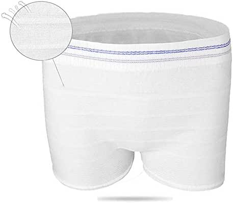 Women Disposable Mesh Panties Post Birth Recovery Must Have Underwear Postpartum High Elasticity, Soft and Breathable (Pack of 3, M/L)