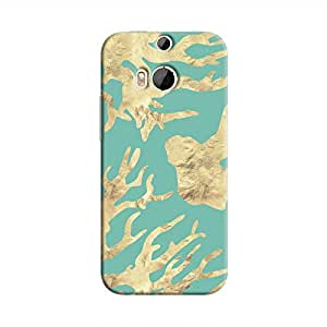 cover it up - Cyan Nature Print One M9 Plus Hard case