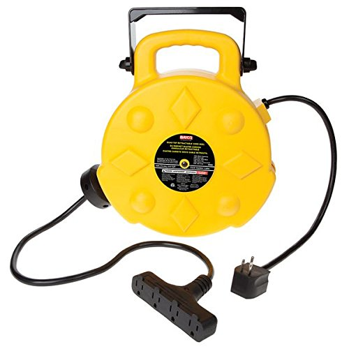 retractable extension cord 2018 best heavy duty extension cord reels best heavy 13023