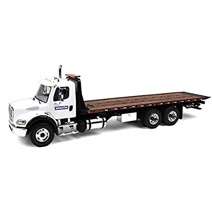 Flatbed Tow Truck >> Freightliner M2 Komatsu Flatbed Tow Truck With Jerr Dan Rollback Carrier 1 34 By First Gear 10 4020 A