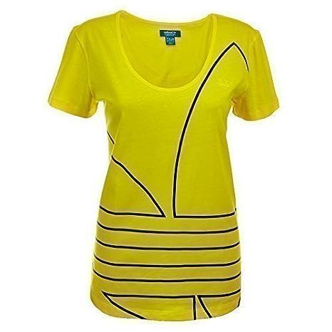 A Motivo T Con Trifoglio Da Adidas Shirt Amazon Donna Originals Y0x4qXTn