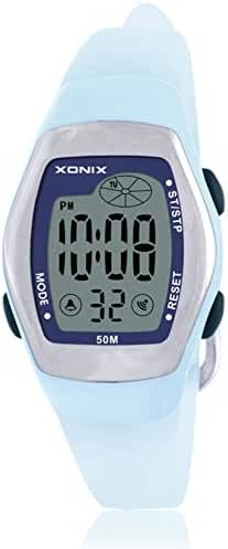 RetroLEDDigital multi-function watch/Waterproof swim girls digital watch-B