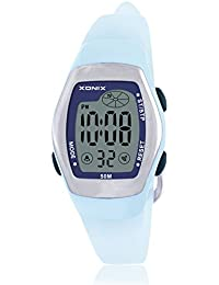 Childrens multi-function digital electronic watch,Jelly led 50 m waterproof resin strap calendar