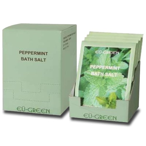ssage Natural Sea Mineral Bath Salts, Peppermint ()