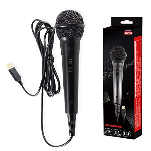 Hikfly USB Microphone 10ft Wired Microphone for Nintendo for sale  Delivered anywhere in Canada