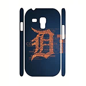 Colorful Frame Glossy Funny Dustproof Hard Plastic Baseball Team Logo Print Samsung Galaxy S3 Mini I8200 Case