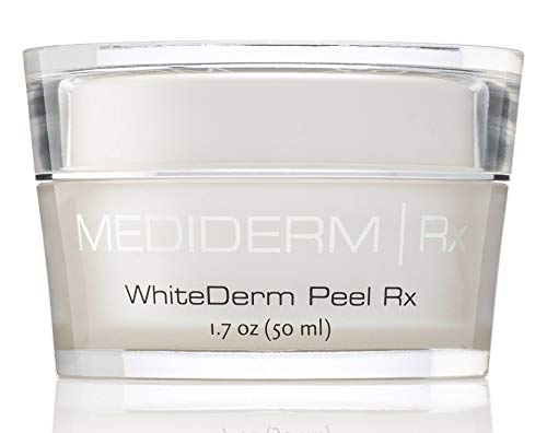 Mediderm Whitederm Peel Rx Cream With 10% Glycolic acid For Uneven Skin Tones, Pigmentations, Skin Renewal, Skin Exfoliation, Oily And Blemished Skin.