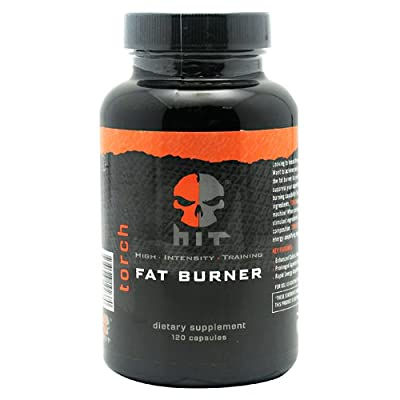 HIT Supplements Thermogenic Fat Burner, Torch Fat and Break Through Weight Loss Plateaus, 135 Capsules (45 Servings)