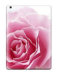 Ipad Air Case Bumper Tpu Skin Cover For Special Pink Flower Accessories