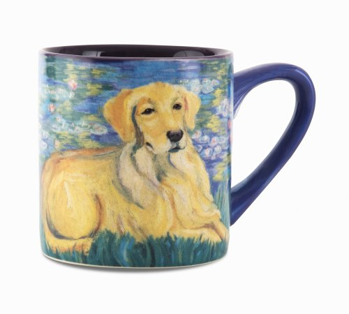 Pavilion Gift Company Golden Retriever Bonet Ceramic Mug, ()