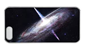 Customized iphone 5 personalize case Infinite gravitational energy in universe PC Transparent for Apple iPhone 5/5S