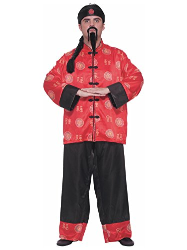 Forum Novelties Men's Chinese Gentleman Costume, Multi, One